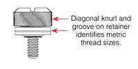 Type IUB and IUC Ultrasonic - Heat Staking Threaded Inserts (Unified)