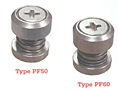 Type PF50 and PF60 Low-Profile Panel Fastener Assemblies (Unified)